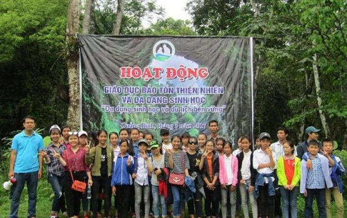 Phong Nha - Kẻ Bàng: Dã ngoại giáo dục thiên nhiên và...